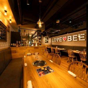 LOVE♡BEEF店内