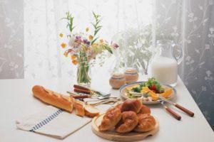 洋食テーブル